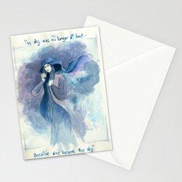 Limitless sky Stationery Cards