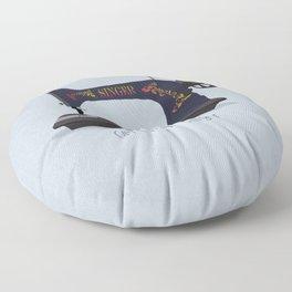 Cute Little Singer Floor Pillow