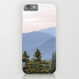 Hazy Mountains iPhone Case