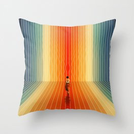Summer, Here I Come Throw Pillow
