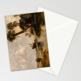 Fort George Island Florida by Thomas Moran, 1878 Stationery Cards
