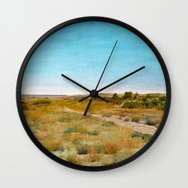 William Merritt Chase - First Touch Of Autumn - Digital Remastered Edition Wall Clock