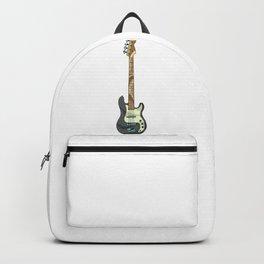Black Bass Guitar Backpack
