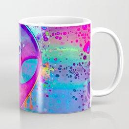 Alien Melt - pink Coffee Mug