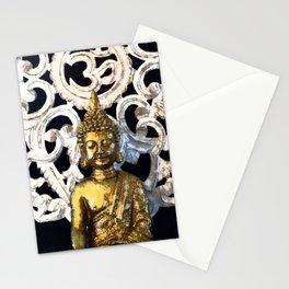 Gold Buddha Om Stationery Cards