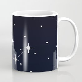 Cassiopeia Constellation Coffee Mug
