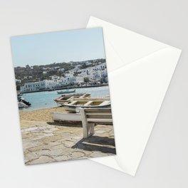 Mykonos, Greece Stationery Cards