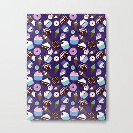 Sweets & Treats - Colored Metal Print