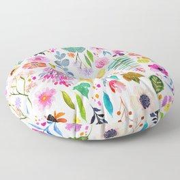 Garden Baby Floor Pillow