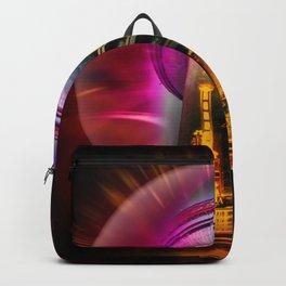 China Art Pearl Tower Backpack