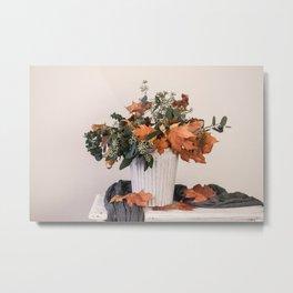 Autumn Arrangement Metal Print