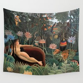 Henri Rousseau - The Dream Wall Tapestry