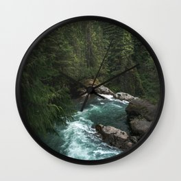 The Lost River - Pacific Northwest Wall Clock