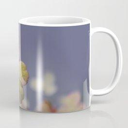 Hydrangeas on Lavender Blue Coffee Mug