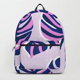 monstera: pattern Backpack