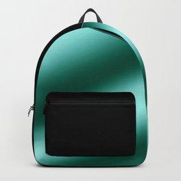 Black and aqua Backpack