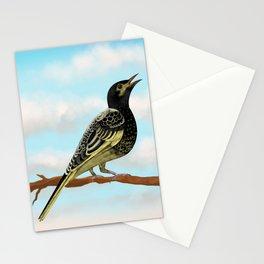 The Regent Honeyeater - Australian Precious Bird Stationery Cards
