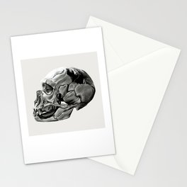 Neanderthal Skull Stationery Cards