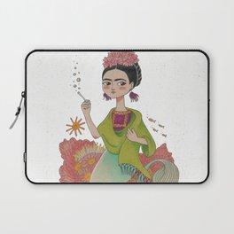 Mermaid Frida Laptop Sleeve