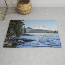 South Sister from Sparks Lake Rug