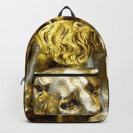 Gold Lion Backpack