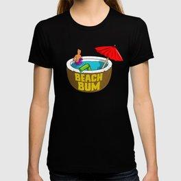 King of the Beach Bum Hill T-shirt