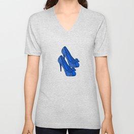 Happy Feet Unisex V-Neck