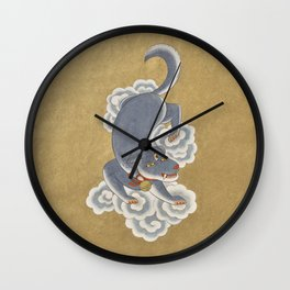 Three-eyed Dog Wall Clock