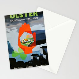 Railwayposter Ulster Stationery Cards