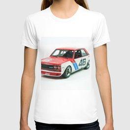 BRE Racing 510 Vintage JDM SCCA Championship Classic Automobile No. 2 T-shirt