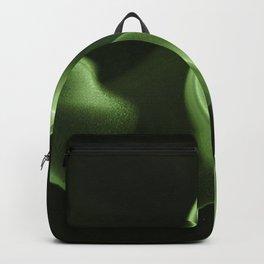 Green Smoke Pattern Backpack