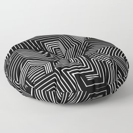 Abstract Geometric #2 Floor Pillow