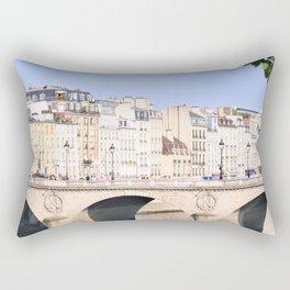 Bridge of Paris Rectangular Pillow