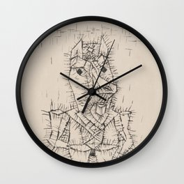 Paul Klee - Ass Wall Clock