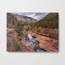 Slide Rock State Park - Arizona Metal Print