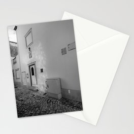 Nazare Front Door BW Stationery Cards