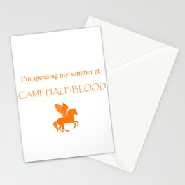 Spending my summer at Camp Half-Blood Stationery Cards
