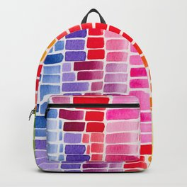 rainbow data Backpack