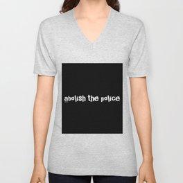 Abolish The Police Unisex V-Neck