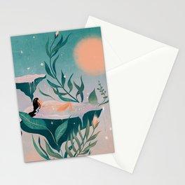 Star dust bath Stationery Cards
