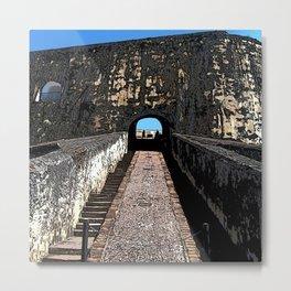 Castillo San Felipe del Morro Metal Print