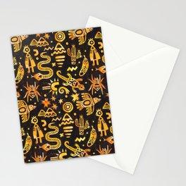 Desert Animals Stationery Cards