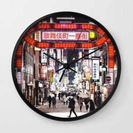 Tokyo 43 Wall Clock