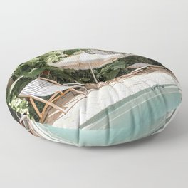 Miami Beach, Florida Floor Pillow