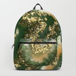 Geode Resin Art Backpack