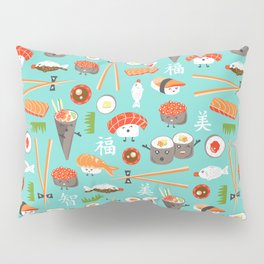Happy Sushi Pillow Sham