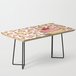 Pink Cupcakes Coffee Table