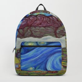 Sunny Starry Night Backpack