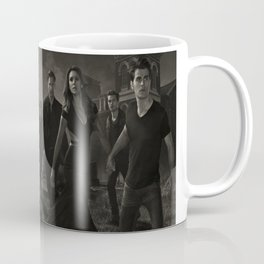 The VampireDiaries Characters Silk Poster Coffee Mug