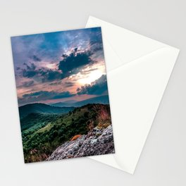 relaxing nature Stationery Cards